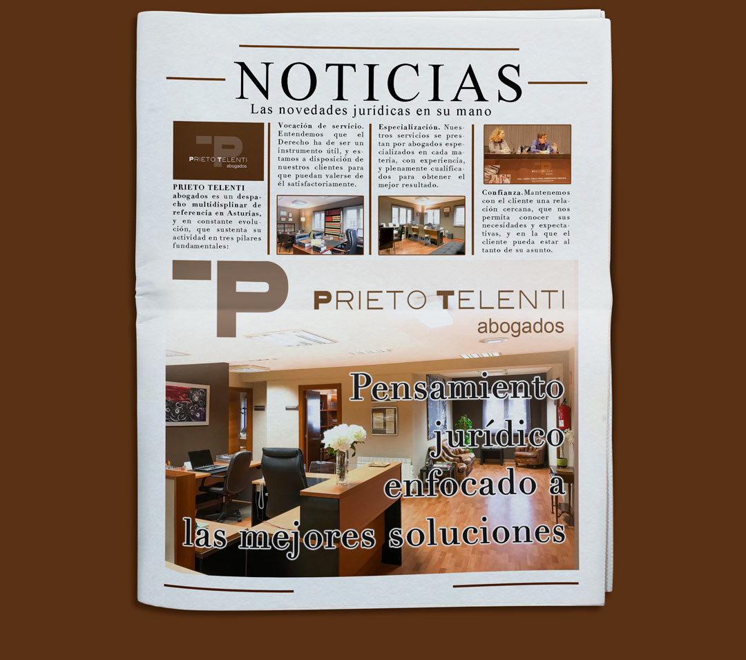 Noticias periodico Prieto Telenti abogados Gijón